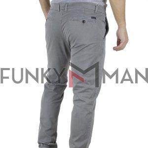 Παντελόνι Casual Chinos Garage55 GAM201-02119 Γκρι