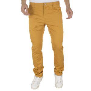 Παντελόνι Chinos BENETO MARETTI CASUAL PANTS 461A-30# σκούρο Κίτρινο
