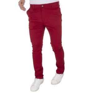 Παντελόνι Chinos BENETO MARETTI PANTS A1361-42 Cherry