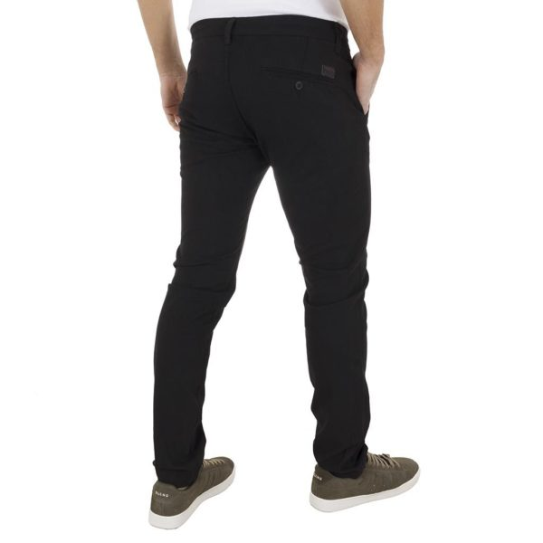 Chinos Παντελόνι COVER CHILLY 3573 Μαύρο