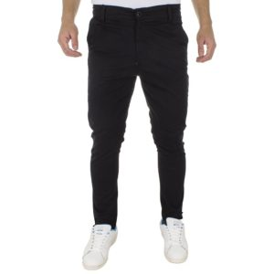 Chinos Παντελόνι COVER BUTTER 7574 Μαύρο