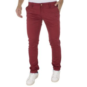 Chinos Παντελόνι COVER CHIBO 7485 Cherry