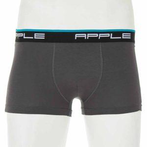 Σετ 2 Εσώρουχα Boxer Apple 0112934 Ανθρακί & Μαύρο