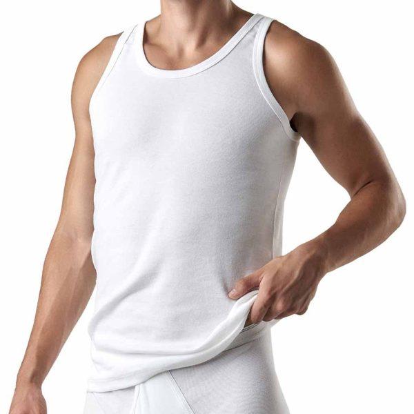 Φανέλα Κλασσική με Λεπτή Τιράντα APPLE APP-0310150 Λευκό