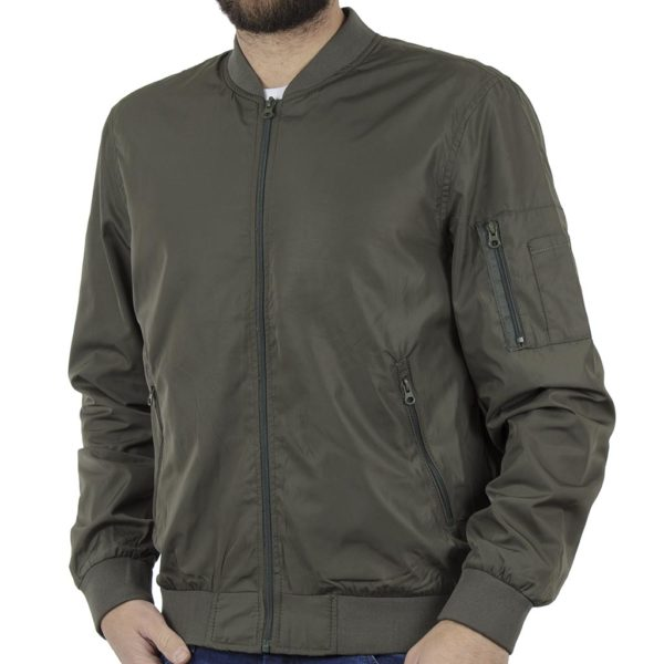 Φλάι Μπουφάν Flight Bomber Jacket BLEND 20707532 Olive
