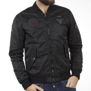 Μπουφάν Flight Bomber Jacket SPLENDID 40-201-082 Μαύρο