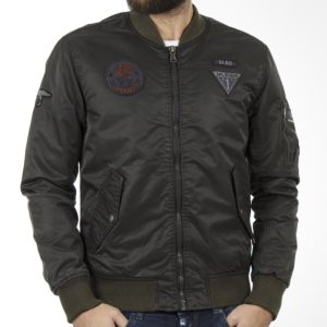 Flight Bomber Jacket SPLENDID 40-201-082 σκούρο Πράσινο
