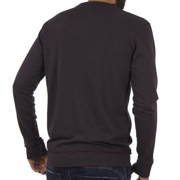 Μπλούζα Φούτερ BATTERY 071000582 σκούρο Μωβ