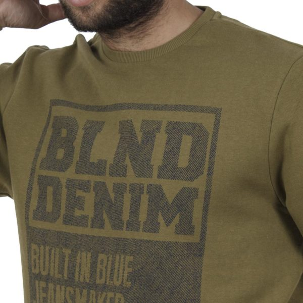 Μπλούζα Φούτερ BLEND 20706158 Χακί