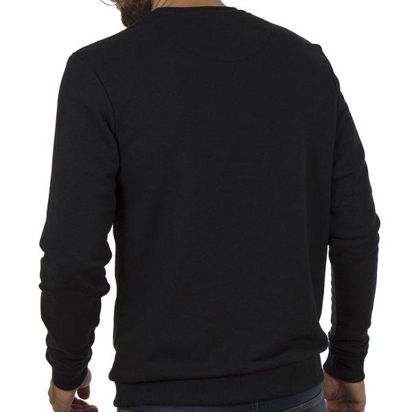Μπλούζα Φούτερ BLEND 20706162 Μαύρο