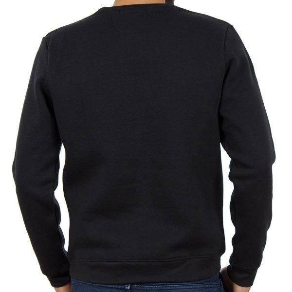 Μπλούζα Φούτερ DOUBLE MTOP-32 Μαύρο