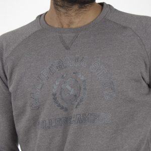 Μπλούζα Φούτερ DOUBLE MTOP-33 Γκρι