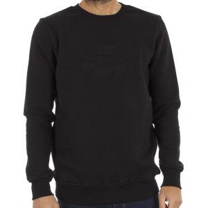 Μπλούζα Φούτερ PONTE ROSSO EMBO 18-2040 Μαύρο