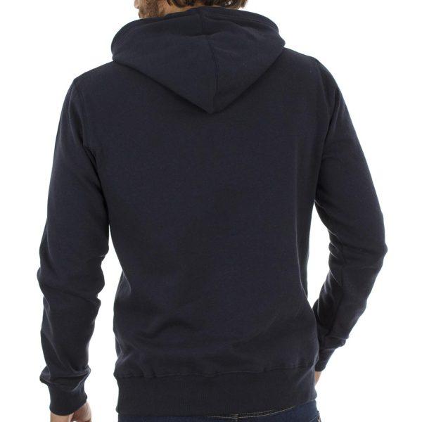 Μπλούζα Φούτερ με Κουκούλα HOODIE Garage55 GAM205-06218 Navy