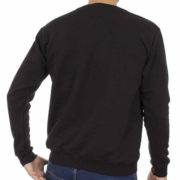 Μπλούζα Φούτερ Cotton4all 19-625 Μαύρο
