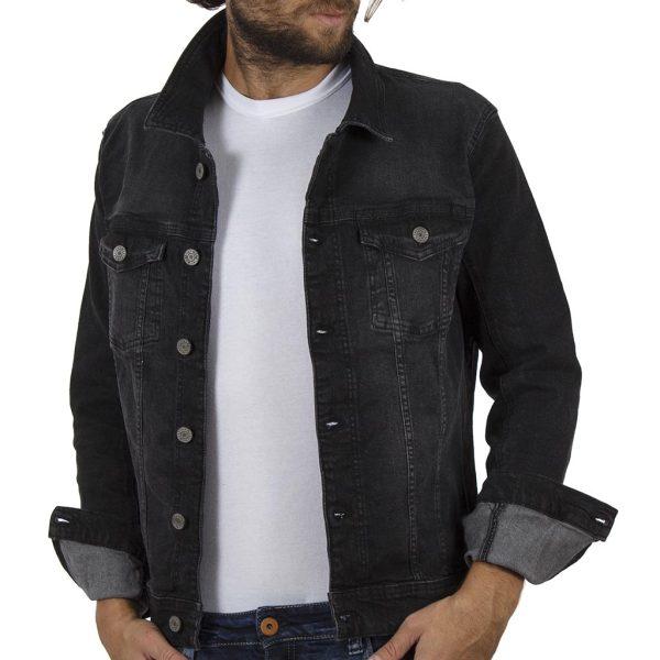 Τζιν Μπουφάν Jean Jacket BLEND 20707162 Μαύρο