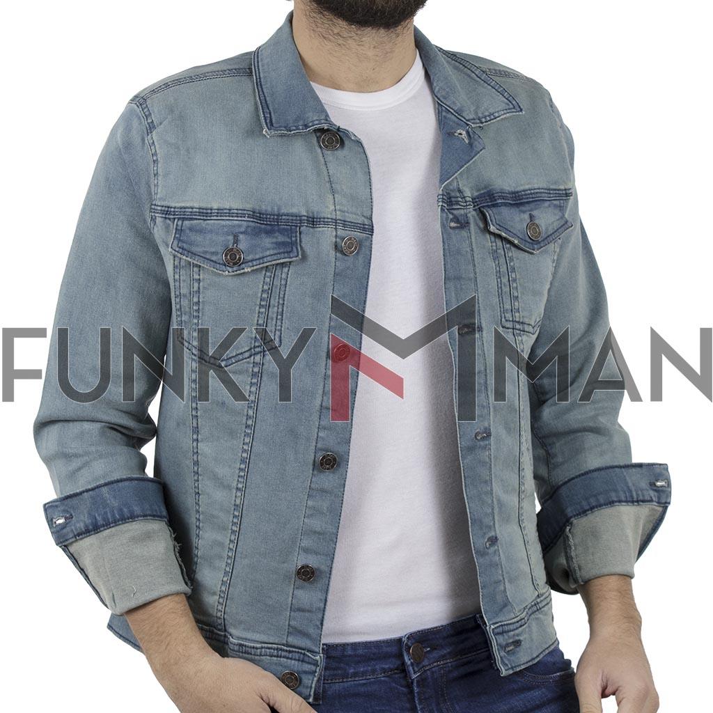 f41effe15fc8 Τζιν Μπουφάν BLEND 20707669 Stone Blue
