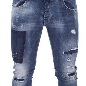 Jean Παντελόνι Back2jeans M71 slim Μπλε