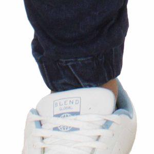 Jean Παντελόνι με Λάστιχα Back2jeans W10B s.slim Μπλε