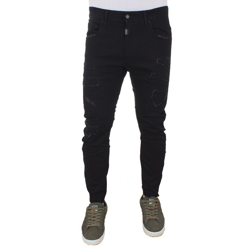 3c767440d935 Τζιν Παντελόνι COVER Jeans TYPEC 9153 Μαύρο