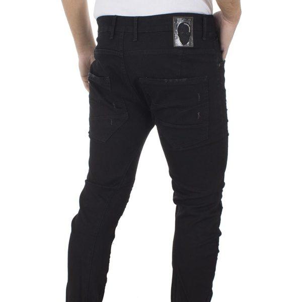Τζιν Παντελόνι COVER Jeans TYPEC 9153 Μαύρο