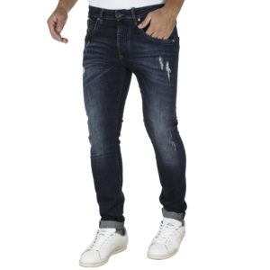 Jean Παντελόνι Slim Fit REDSPOT MARTINE LD Μπλε