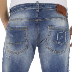 Τζιν Παντελόνι SHAFT jeans 5686 Μπλε