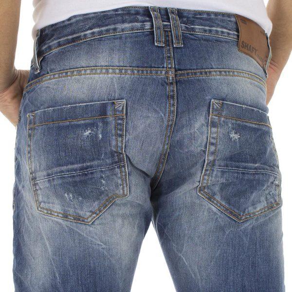 Τζιν Παντελόνι SHAFT jeans 5687 Μπλε