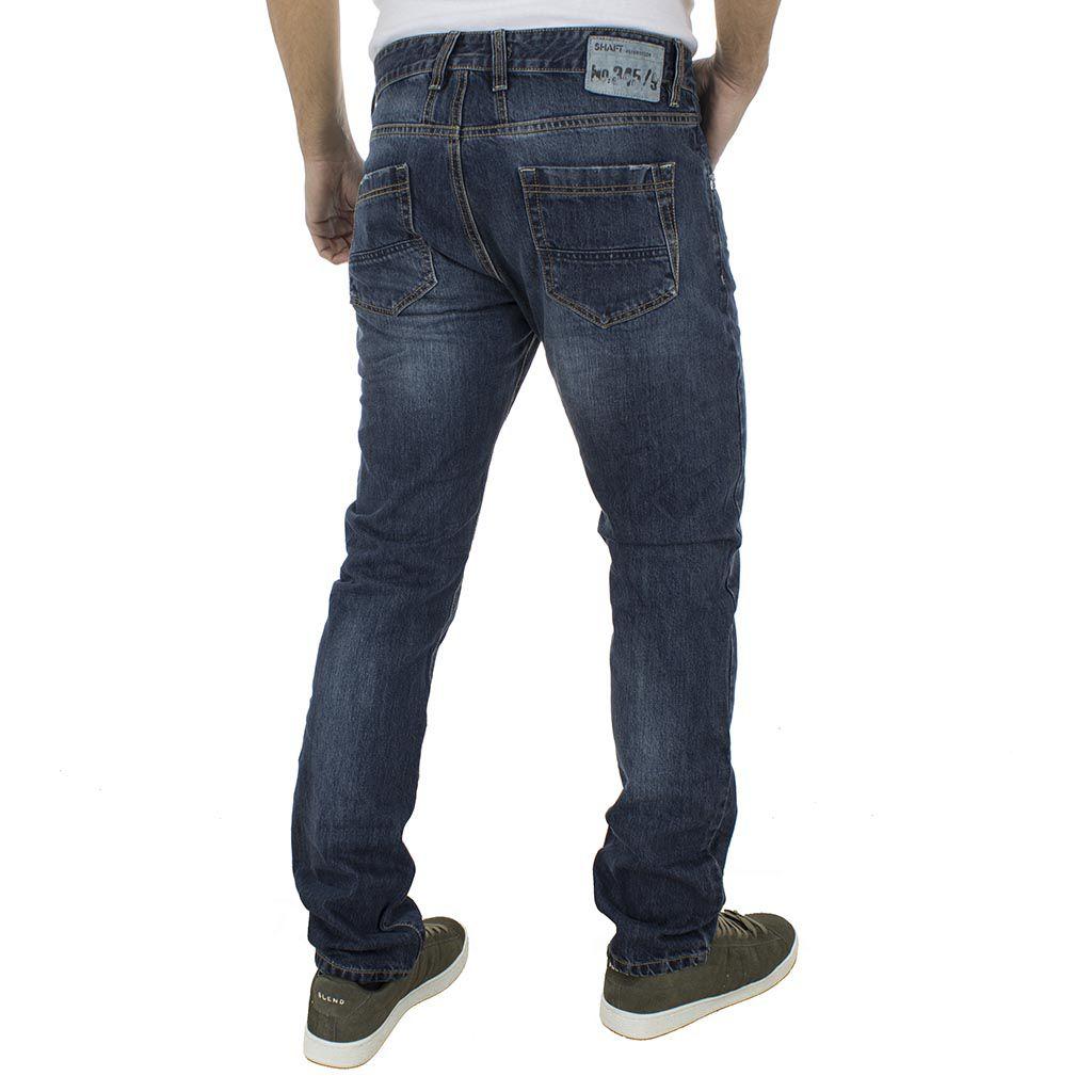 07cde639b37 Jean Παντελόνι Shaft Jeans No.345/9 L722 Μπλε | FUNKYMAN Ανδρικά ...