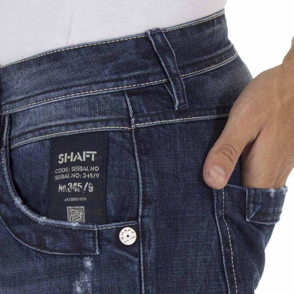 Τζιν Παντελόνι SHAFT Jeans B5668 Μπλε