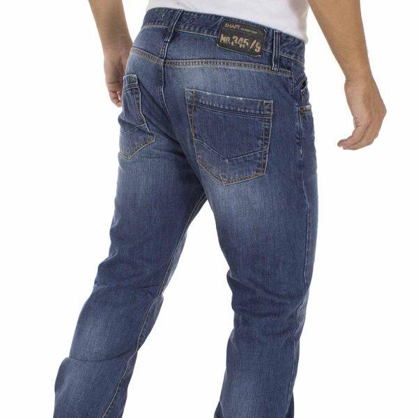 Τζιν Παντελόνι SHAFT Jeans M863 Μπλε