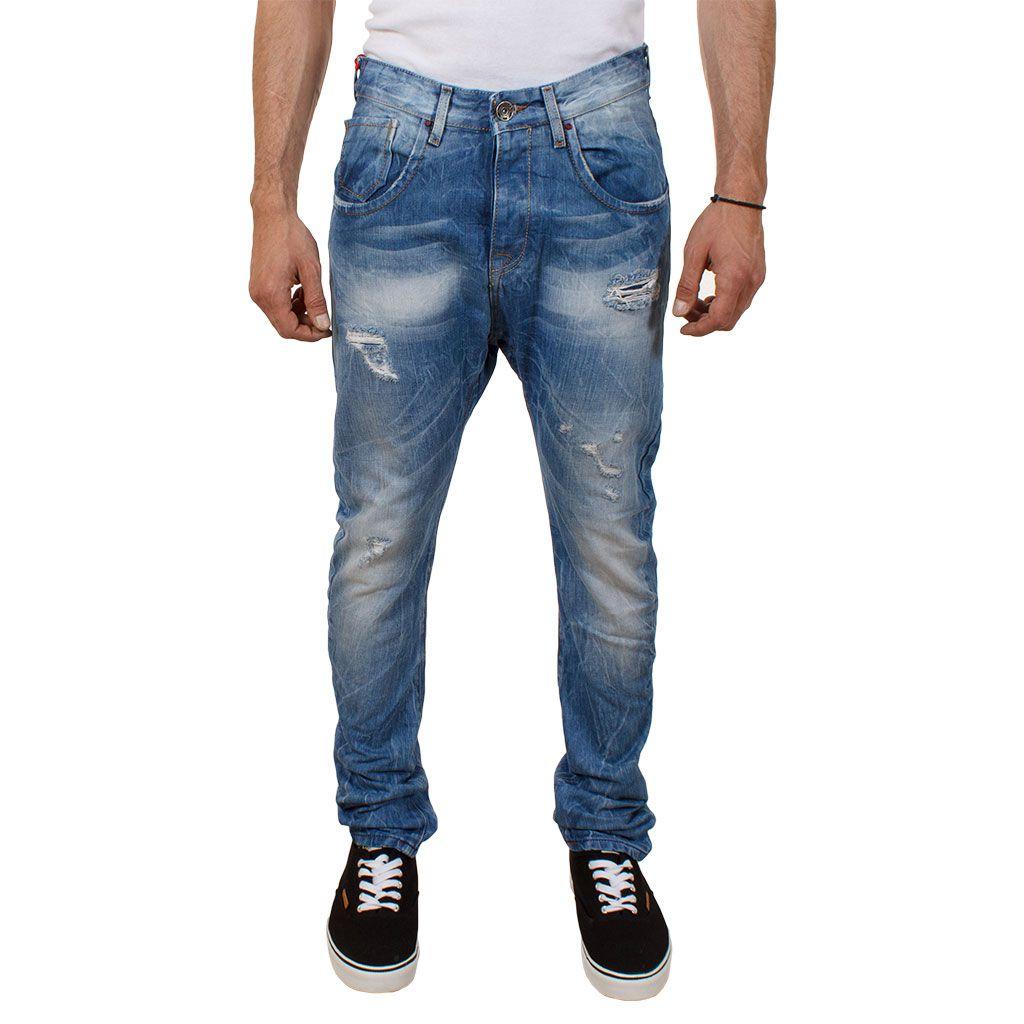 edf9694d9ebf Τζιν Buggy Παντελόνι Back2Jeans M15A boyfriend fit Μπλε