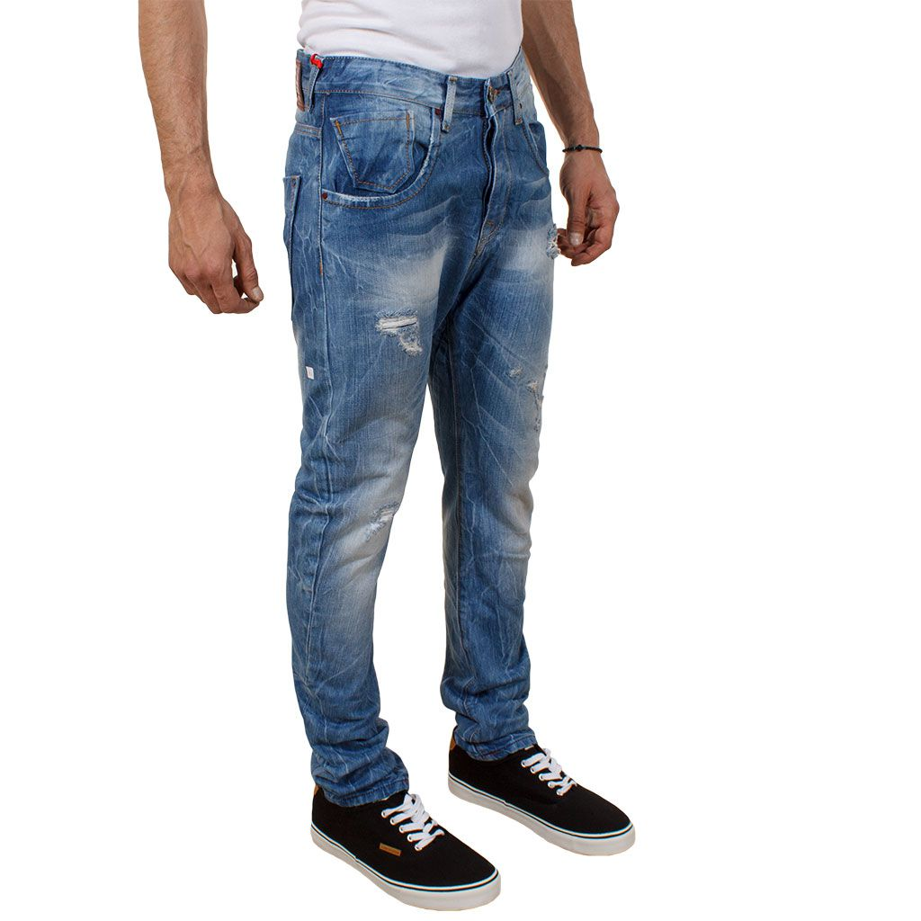 Τζιν Παντελόνι Back2Jeans M15A boyfriend fit