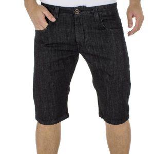 Jean Βερμούδα DAMAGED Jeans FRDB5 Μαύρο