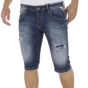 Jean Βερμούδα SHAFT Jeans B5686 Μπλε