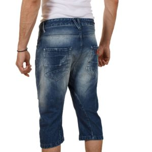 Jean Βερμούδα COVER Jeans VDanny 6696 Μπλε