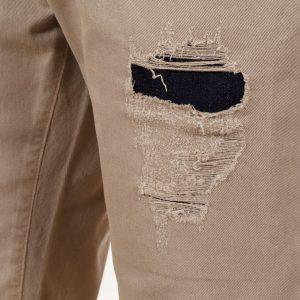 Jean Βερμούδα COVER Jeans VRaian 7233 Beige