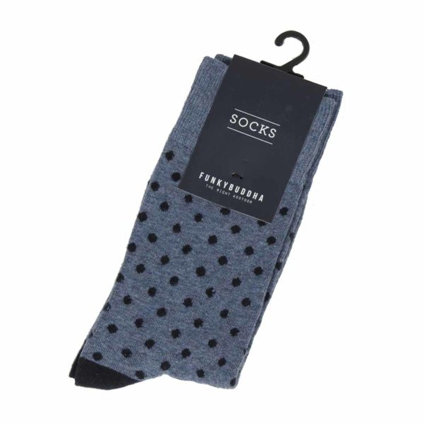 Κάλτσες FUNKY BUDDHA FBM025-10218 Indigo