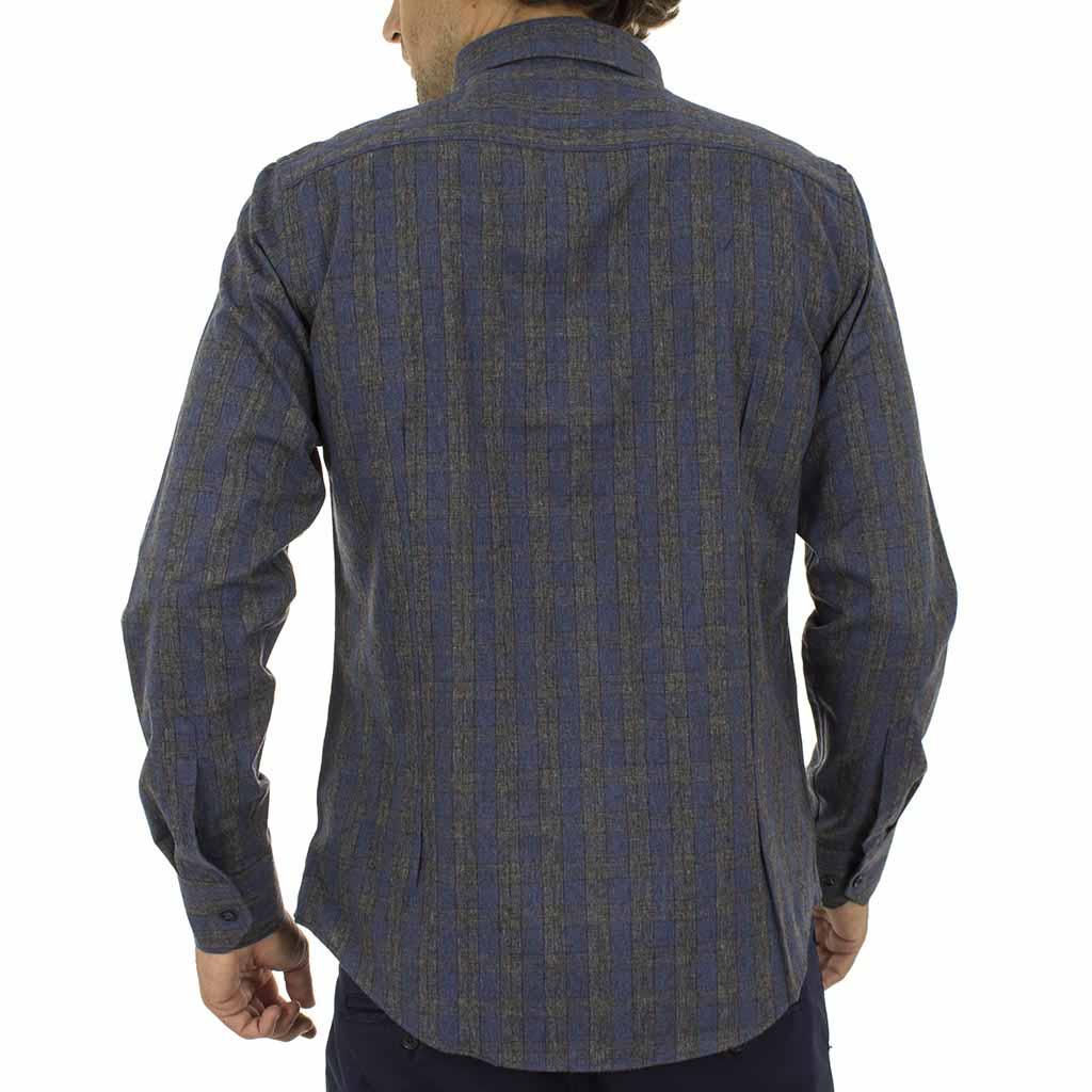 Καρό Πουκάμισο Φανέλα CND Shirts 850-3 σκούρο Γκρι  7ed356dc8cf
