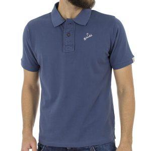 Κοντομάνικο Μπλούζακι με Γιακά Polo SPLENDID 37-206-007 Indigo