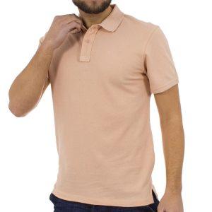 Κοντομάνικη Μπλούζα με Γιακά Polo BLEND Poloshirt 20704970 ανοιχτό Ροζ