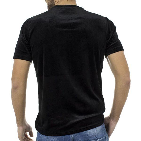 Κοντομάνικη Μπλούζα T-shirt FREE WAVE SOHO 72122-1 Μαύρο
