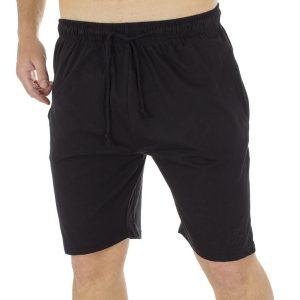 Μακό Βερμούδα DOUBLE Terry Shorts MS-5 Μαύρο