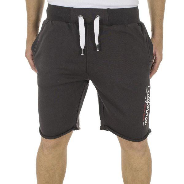 Μακό Βερμούδα DOUBLE Terry Shorts MS-11 Ανθρακί