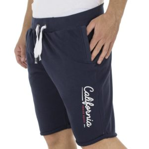 Μακό Βερμούδα DOUBLE Terry Shorts MS-11 Navy