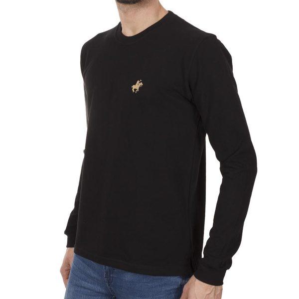 Mακρυμάνικη Μπλούζα START CARAG 99-220-18N Μαύρο