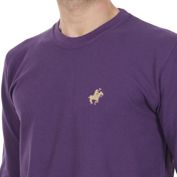 Mακρυμάνικη Μπλούζα START CARAG 99-220-18N Μωβ