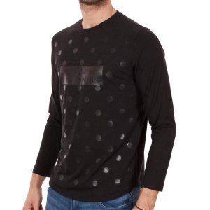 Μακρυμάνικη Μπλούζα Free Wave 52705 Μαύρο