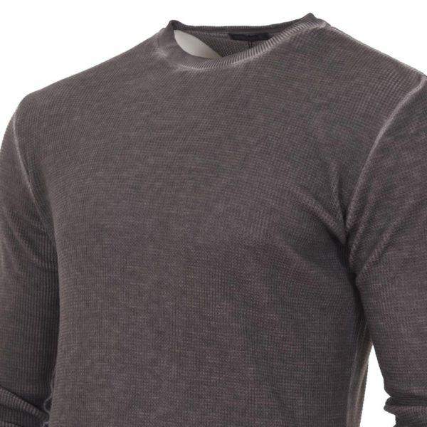 Μακρυμάνικη Μπλούζα FreeWave 72109 σκούρο Γκρι