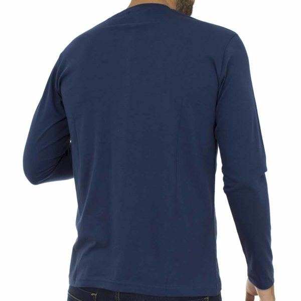 Μακρυμάνικη Μπλούζα Cotton4all 19-606 Μπλε